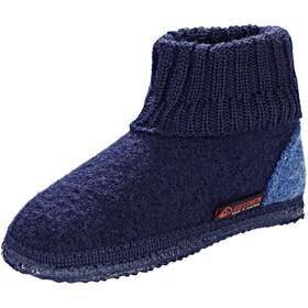 Giesswein Kramsach Pantofole chiuse Bambino, blu